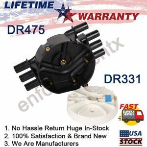 DR475 DR331 Distributor Cap and Rotor Kit For Chevrolet S10 GMC 4.3L V6 Vortec