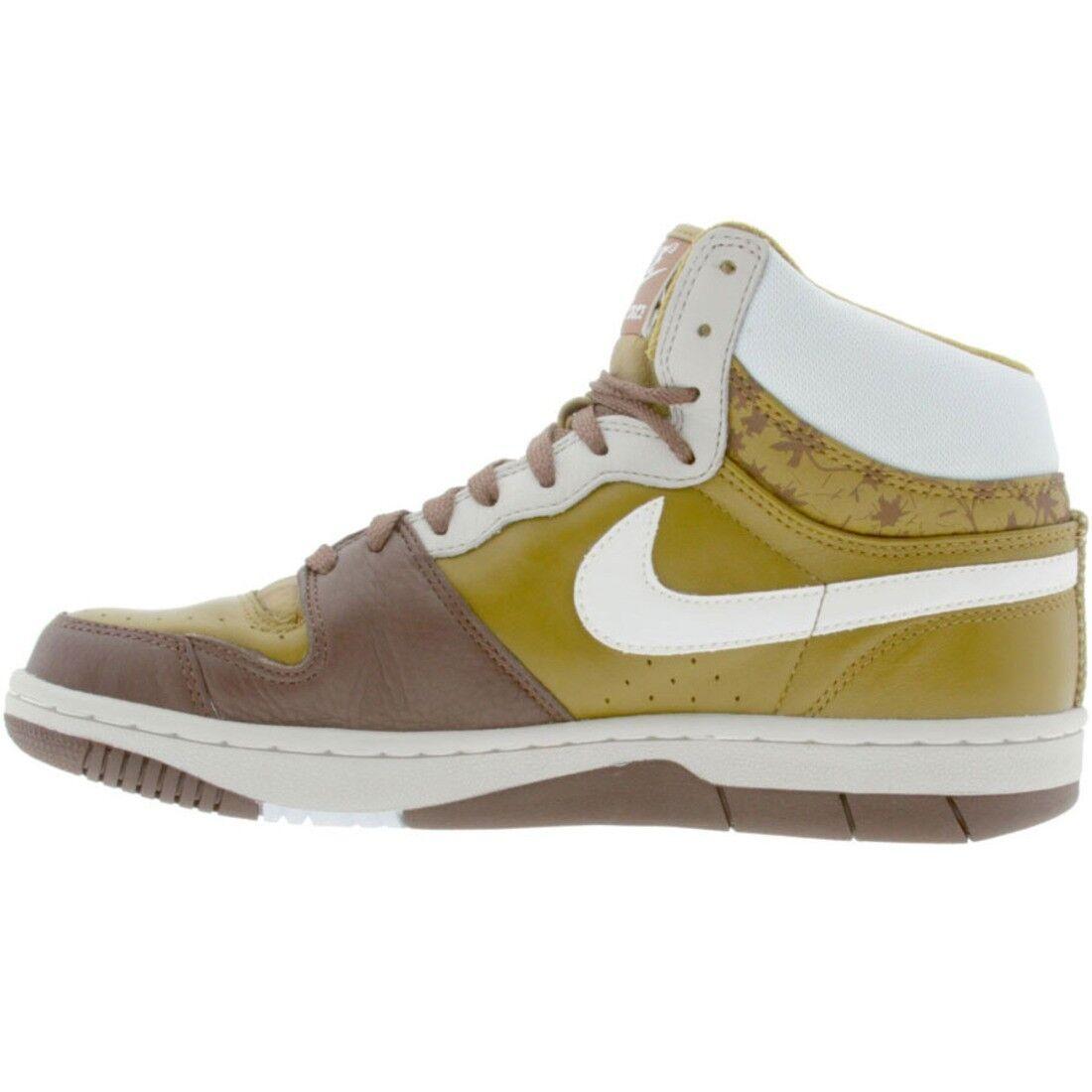 313941-311 Nike Court Force High Premium Spanish Moss blanc Granite