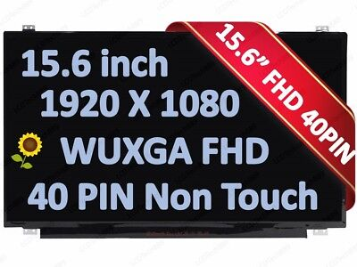 HP Envy X360 15-u111dx 15-u110dx LED LCD Screen for 15.6 FHD Display Non-Touch