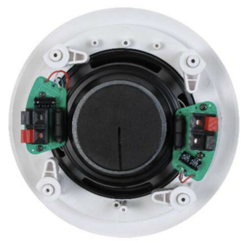 50W RMS Dual voice coil woofer New 6 1//2/'/' Single Point Stereo Ceiling Speaker