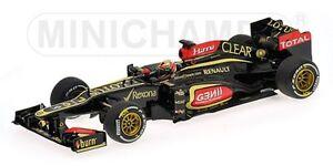 Minichamps 410 130107, voiture modèle Lotus F1, K Raikkonen, victoire en Australie 2013 1: 43e 792158027922