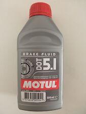 MOTUL DOT 5.1 BRAKE FLUID LIQUIDO OLIO FLUIDO FRENI FRENO 100% SINTETICO ml 500