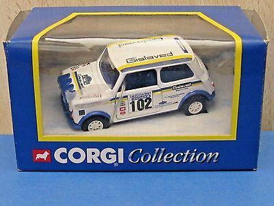 Corgi Mini 04404 Swedish Rally Gislaved White in 1:36