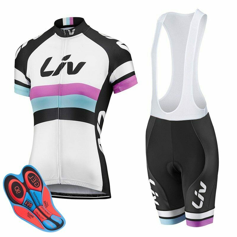 2019  LIV Pro Cycling  Jersey set woman NW MTB Bike Clothes Summer Bicycle