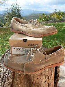 NUOVO-Timberland-Boot-Company-47540-Counterpane-n-41-5-scarpe-mocassino-uomo