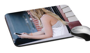 Girl-With-Phone-Mouse-Pad-Soft-Rubber-Keyboard-Large-Computer-Gaming-Mouse-Mat