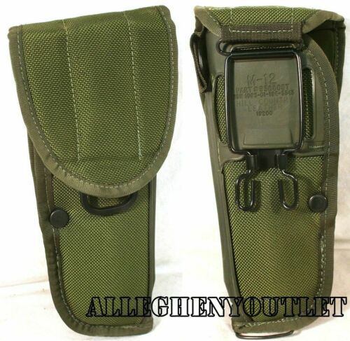 USGI Hill Country M12 19200 M9 9MM PISTOL HOLDER HOLSTER Ambidextrous MINT//LN