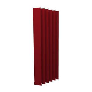 Lamellenvorhang Vertikaljalousie Lamellen Vertikal Jalousie 12,7 x 250 cm rot