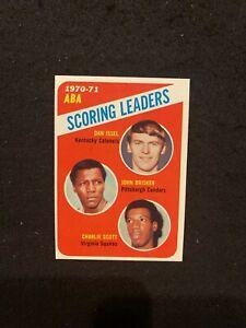 1971-72 Topps #146 Scoring LDRS 1970-71 DAN ISSEL Rookie Kentucky Colonels NMT