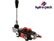 Hydraulikventil Handsteuerventil 40L Handhebelventil 1/2  1-fach für Dw Zylinder