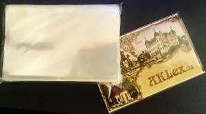 100-Ansichtskarten-Schutzhuellen-KOBRA-T12-Postkarten-Fotos-Masse-97x149x0-075mm
