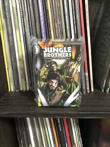 Jungle Brothers Straight Out Of The Jungle Cassette Tape Box Set + Instrumentals