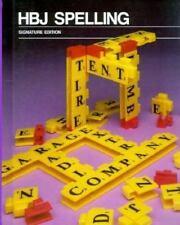 Hbj Spelling Level 5 (Purple) Harcourt Brace Jovanovich Hardcover