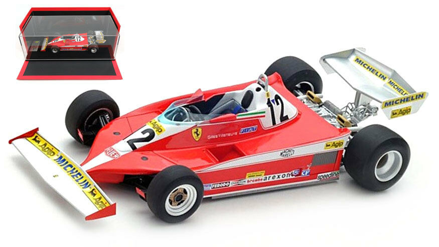 LookSmart Ferrari 312 T3 Winner Canadian GP 1978 - Gilles Villeneuve 1 18 Scale