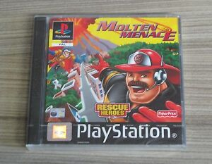 Rescue-Heroes-Molten-Menace-PAL-Sony-Playstation-1-PS1-New-amp-Sealed