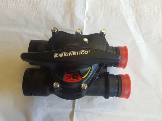 Kinetico Black Water Softener Byp Valve 3 Positions For Model 60