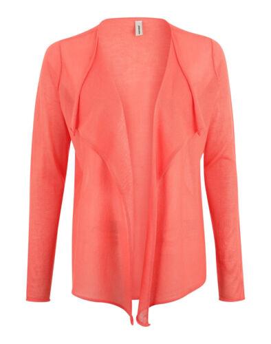 Soyaconcept Liddy Cardigan 3 32194-30 finemente lavorato a maglia DONNA giacca arancione