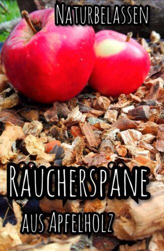 Räucherspäne,grob,600 g Räucherchips,Apfelholz,Smokerchips,räuchern,smokern,BBQ