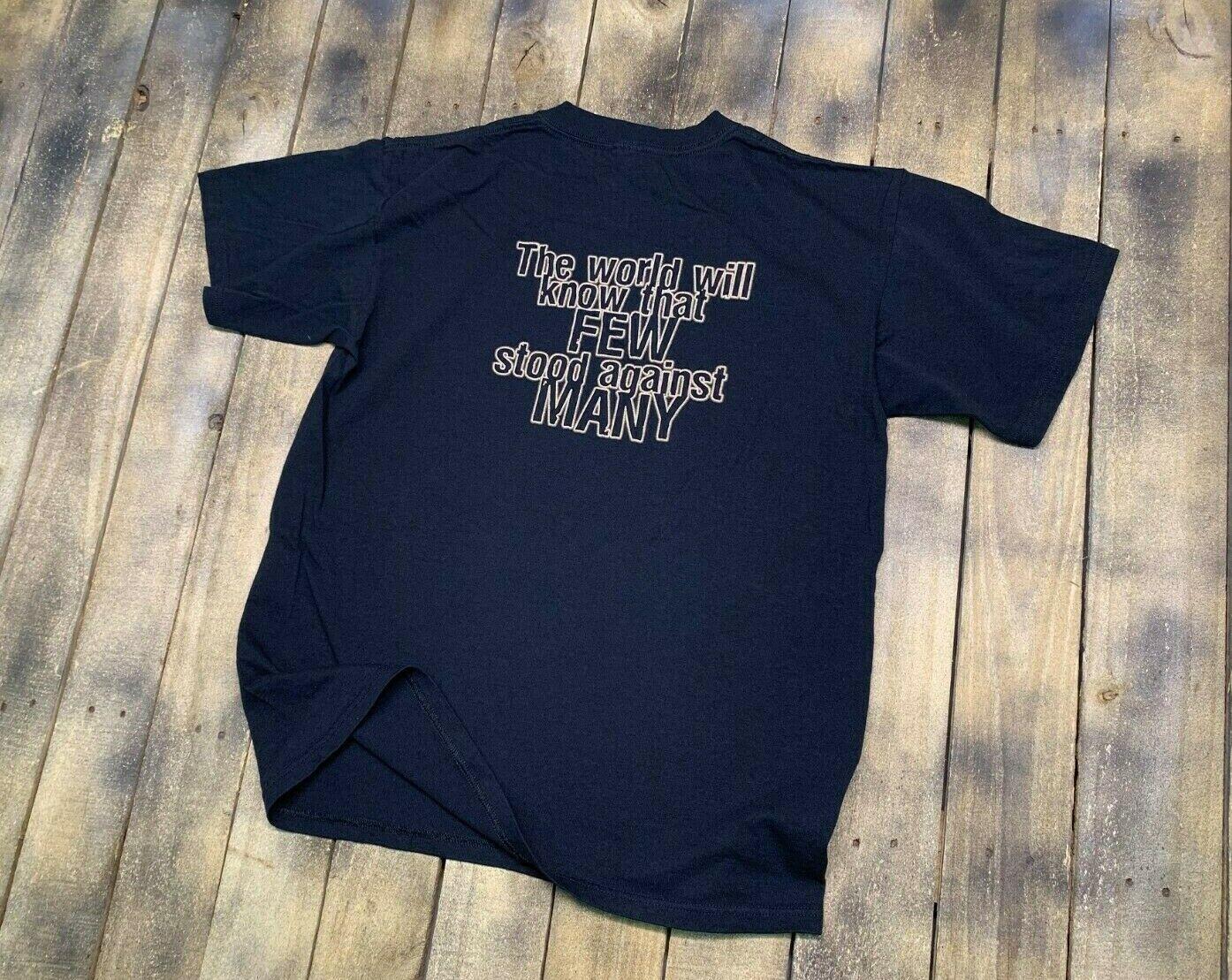 L * never worn 300 movie t shirt * vtg frank mill… - image 3