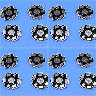 10-100PCS 1W 3W 20mm High Power Led Aluminum Base Plate Heat Sink for Light Chip