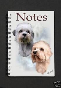Dandie Dinmont Terrier Dog Christmas Labels by Starprint No 3