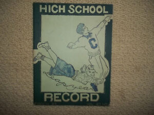 1948-CAMDEN-HIGH-NJ-HIGH-SCHOOL-high-school-034-Record-034-Magazine-Rare-find