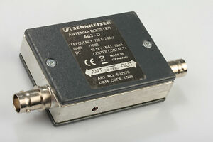 Forceful Sennheiser Antenna Booster Ab3-d 780-822mhz #1 Traces Of Use Video Production & Editing Audio For Video Dirt Fashionable Patterns