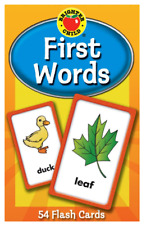 First Words Flash Cards Brighter Child Preschool Practice