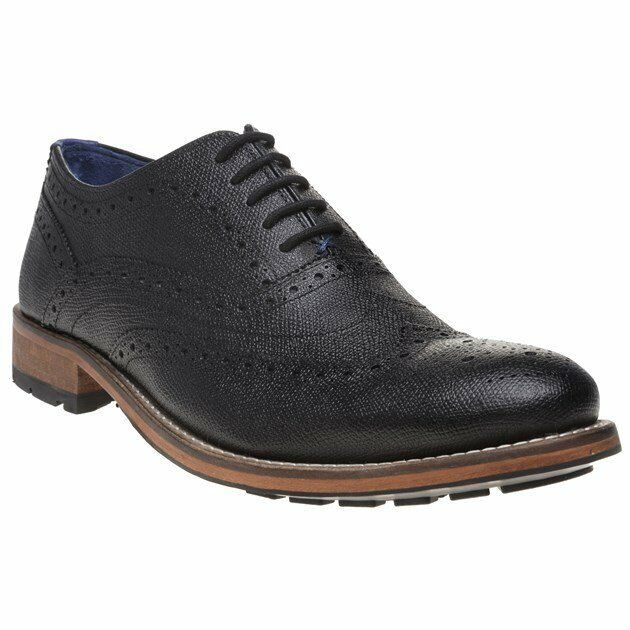 1162d9facd5e95 Ted Baker Guri 9 - Black Leather Mens Shoes 8 UK for sale online