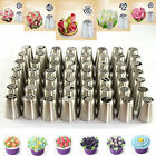 56 Pcs Russian Flower Icing Piping Nozzles Cake Decoration Tips Baking Tools kit