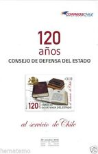 Chile 2015 Brochure 120 Años Consejo de Defensa del Estado