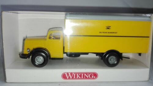 T@P Wiking 860 // 8 -  Mercedes L 6600 Post-Koffer-LKW  OVP