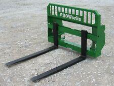 48 5500 Pound Heavy Duty Pallet Fork Attachment Fits John Deere 600 700 Series