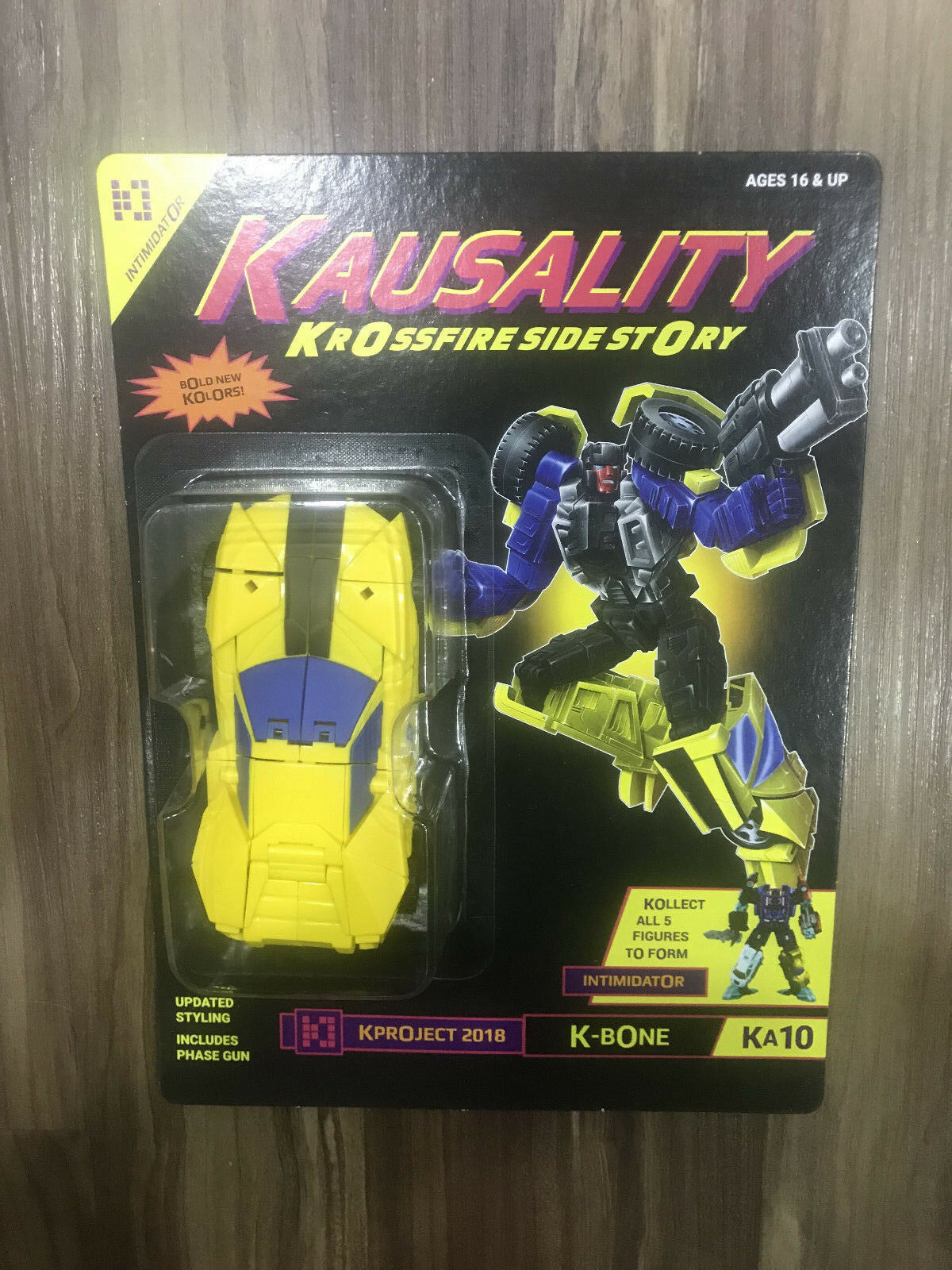 Transformers Fansproject Convention Kausality KA-10 K-Bone Uomoasor Dragstrip