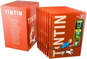 The-Complete-Adventures-Of-Tintin-Young-Adult-Collection-Hardback-By-Herge