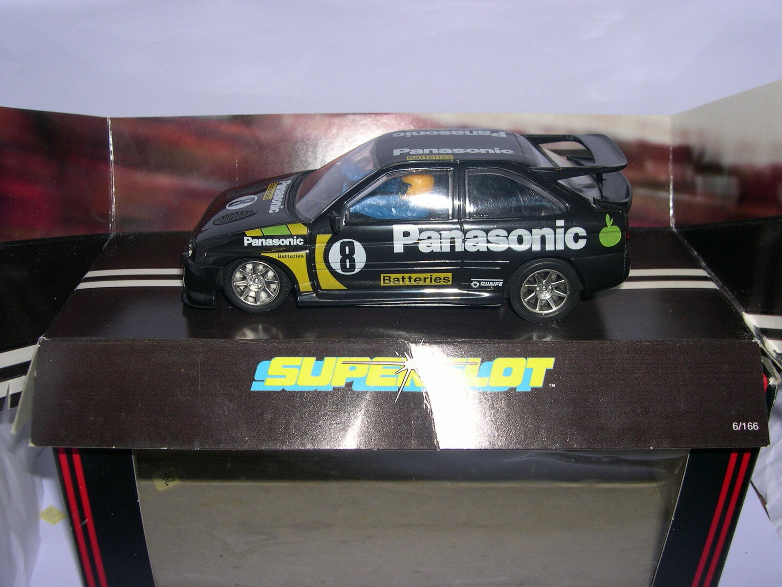 SUPERSLOT C336 FORD ESCORT COSWORTH PANASONIC SCALEXTRIC UK MB