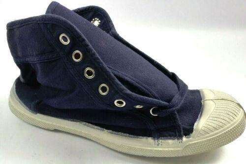 ***NEW*** Bensimon Hi-Top  Canvas Shoes Navy