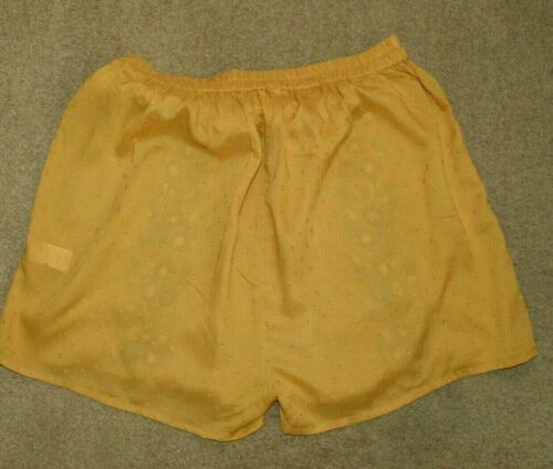 New Next Ochre Yellow Floral Embroidered Shorts Sz UK 12 14 18