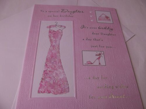 To A Special Daughter On Her Birthday..........Larger Birthday Greetings Card