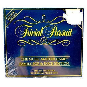 Trivial-Pursuit-music-master-board-game-famiglia-POP-ROCK-EDT-CASSETTA-NUOVO-SIGILLATO