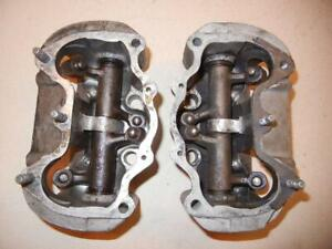 Triumph-T140-Unit-750cc-GOOD-USED-cylinder-head-PAIR-of-rocker-boxes-U05