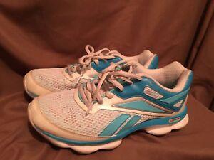 a4077232bce Used Worn Reebok Runtone Womens size 7.5 Running shoes blue white