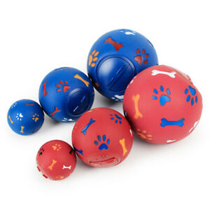 Fun-Puppy-Dog-Play-Ball-Treat-Dispenser-Pet-Cat-Interactive-Toy-Food-Dispensing