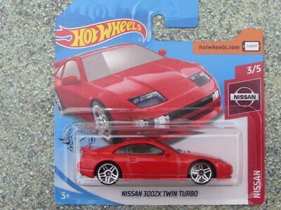 Hot wheels nissan 300zx twin turbo rouge