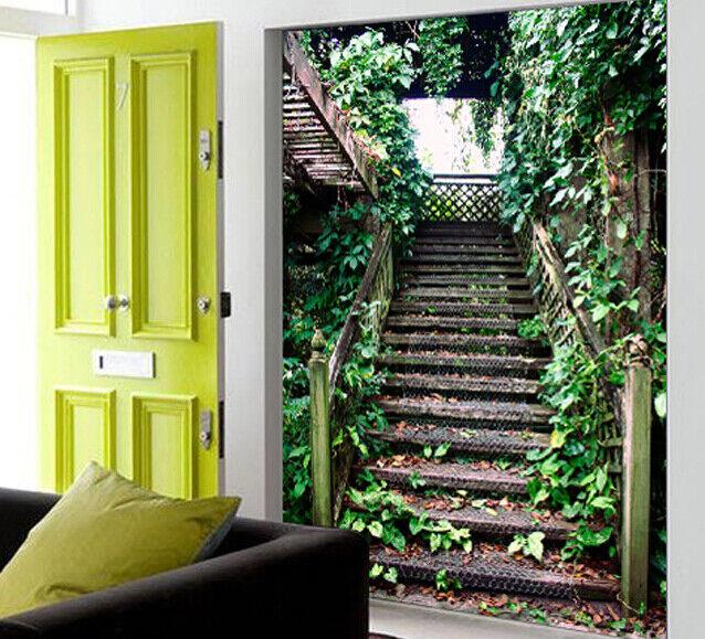 3D Pflanzen Kunst Treppe 85 Tapete Wandgemälde Tapete Tapeten Bild Familie DE