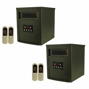 LifeSmart-LifePro-6-Element-1500W-Portable-Infrared-Space-Heaters-Pair