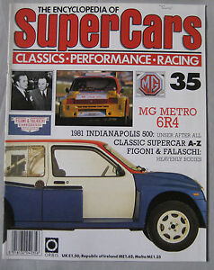 SUPERCARS-magazine-Issue-35-Featuring-MG-Metro-6R4-Cutaway-drawing-amp-poster