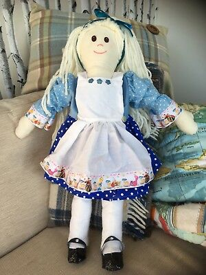 Flight Tracker Alice Nel Paese Delle Meraviglie Bambola Fatta A Mano-mostra Il Titolo Originale