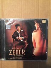 Zeher - Roop Kumar Rathod Atif Aslam Rare Bollywood CDF 112133 1st Edition