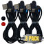 3-Pack-3-6Ft-Braided-USB-Type-C-Cable-Samsung-Charger-Cord-Fast-Charge-90-Degree miniature 1